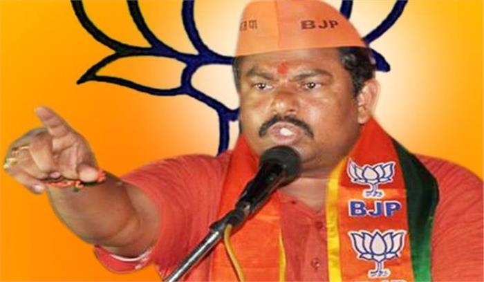 भाजपा विधायक बोले- गैर हिन्दुओं की दुकान से न खरीदें सामान , सिर्फ तिलकधारी हिंदू से करें खरीदारी