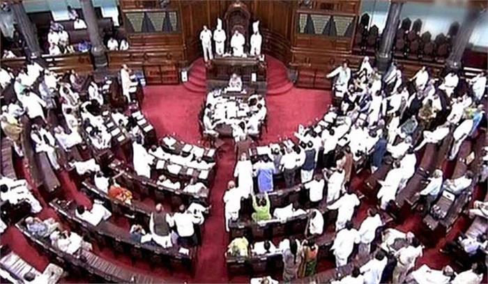 राज्यसभा में कांग्रेस को पछाड़ बीजेपी बनी सबसे बड़ी पार्टी, भाजपा के पास हैं 58 सांसद
