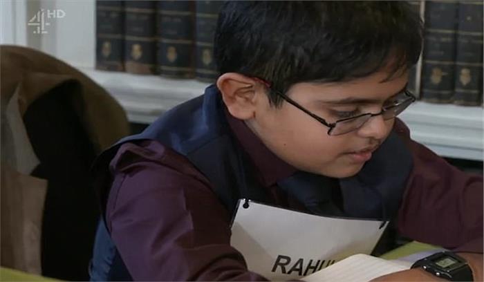 ब्रिटिश टीवी शो में हिस्सा लेने के बाद 12 वर्षीय यह बच्चा बना रातों रात स्टार