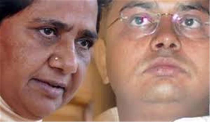 बसपा सुप्रीमो मायावती के भाई आनंद कुमार पर IT विभाग का सुपर एक्शन, 400 करोड़ का बेनामी प्लॉट किया जब्त