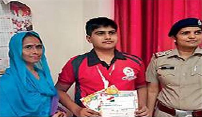 15 वर्षीय विनय ने खेल के जरिए दी कैंसर को मात, जीता स्वर्णपदक