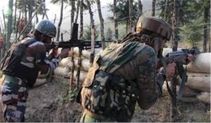 उरी में एक बार फिर पाकिस्तान ने किया सीजफायर का उल्लंघन 3 स्थानीय नागरिक घायल जवाबी कार्रवाई में सेना ने बंकर किया ध्वस्त