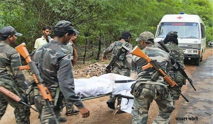 Breaking News - छत्तीसगढ़ के कांकेर में नक्सलियों - सुरक्षाबलों के बीच मुठभेड़ , 4 जवान शहीद , 2 घायल