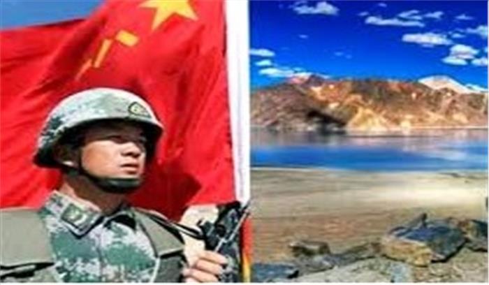 चीन की वादाखिलाफी बदस्तूर जारी , पैंगोंग झील के पास फिंगर -5 पर अभी भी जमा हैं चीनी सैनिक