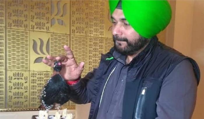 सिद्धू अब पाकिस्तान से लाए काले तीतर को लेकर घिरे , तोहफे में CM अमरिंदर सिंह को दिया था पक्षी