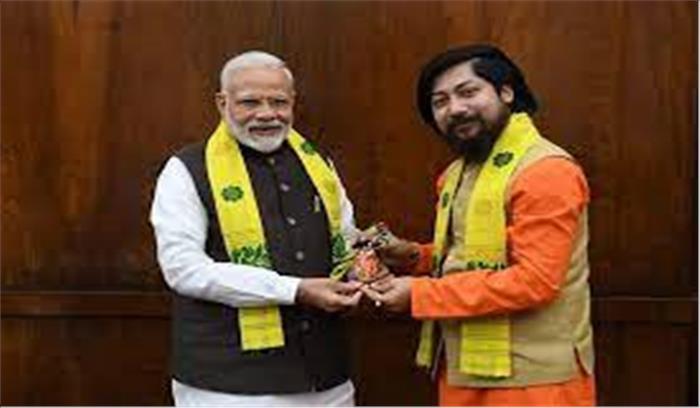 कैबिनेट मंत्री निसिथ प्रामाणिक की नागरिकता पर हंगामा , कांग्रेसी नेता का दावाबांग्लादेशी हैं, PM को लिखा खत