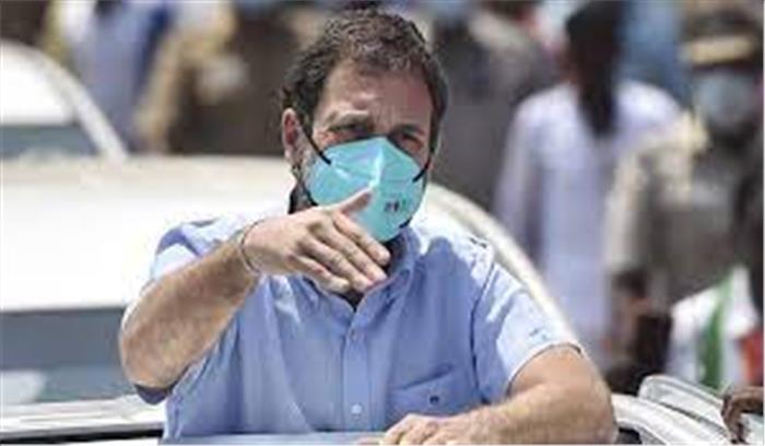 राहुल गांधी भी कोरोना के शिकार  पीएम मोदी ने की जल्द स्वस्थ होने की मंगलकामना