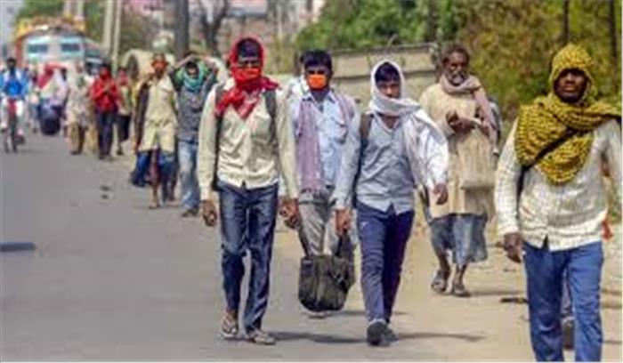 केजरीवाल सरकार ने प्रवासी मजदूरों को दिल्ली में रोकने के लिए बनाई रणनीति , इनके खातों में जमा होंगे रुपये
