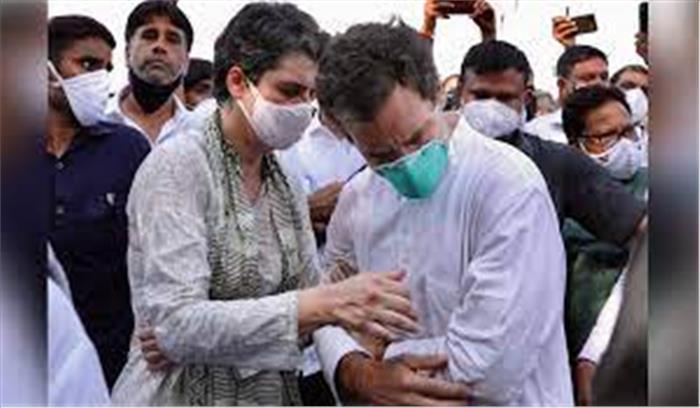 प्रियंका - राहुल का मोदी सरकार पर दोहरा वार, कहा - हर जगह से रोने की आवाज आ रही , लेकिन ये रैलियों में हंस रहे हैं