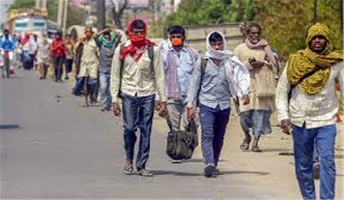 दिल्ली - मुंबई वापस नहीं जाएंगे यूपी के मजदूर! , योगी सरकार का प्रवासी मजदूरों के लिए मास्टर प्लान , यूपी को बनाएंगे उद्योग हब