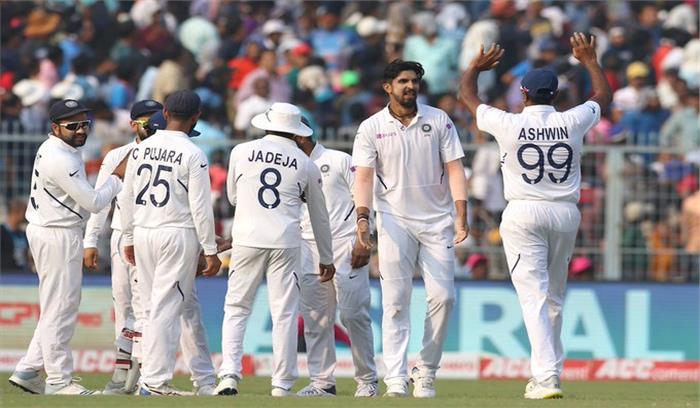 IND Vs BAN TEST LIVE - मेहमान बांग्लादेश महज 106 रनों पर सिमटी , गेंदबाजों ने बरपाया कहर