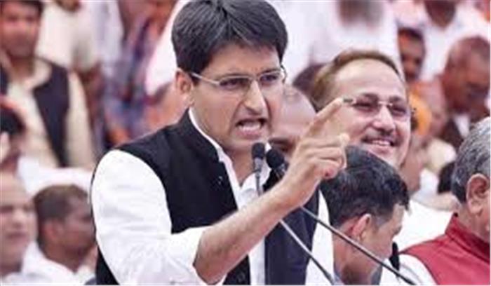 सत्ता से फिर दूर होते कांग्रेसी दीपेंदर हुड्डा के भड़काऊ बोल- कहा- जो निर्दलीय BJP संग जाएगा उसे जनता जूते मारेगी