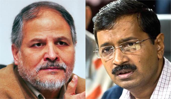 उपराज्यपाल और दिल्ली सरकार में फिर मतभेद, सीएम केजरीवाल ने ट्वीट कर कहा