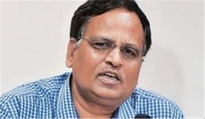 स्वास्थ्य मंत्री सतेंद्र जैन बोले - अगर दिल्ली में कोरोना टेस्ट बढ़ाने हैं तो ICMR से कहें अपनी गाइडलाइन बदलें