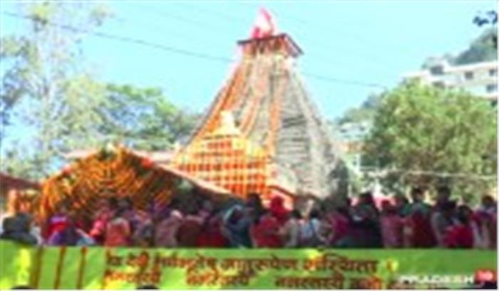 प्रदेश में धूमधाम से शुरू हुई उमा देवी की देवरा यात्रा, छह महीने तक चलेगी