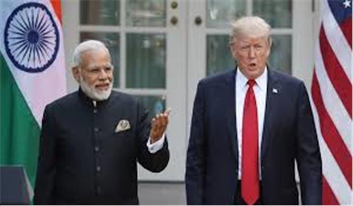 ट्रंप ने अपने संदेश में लिखा - नरेंद्र मोदी एक महान आदमी , भारतीय भाग्यशाली है कि उनके पास मोदी है