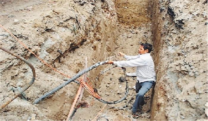 पेयजल योजना में हुआ 60 लाख रुपये का घोटाला, कागजों में 2015 में काम हुआ पूरा