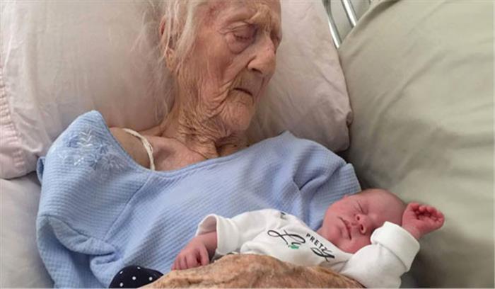 महिला ने 101 की उम्र में बच्चे को जन्म देकर डॉक्टरों को किया अचंभित