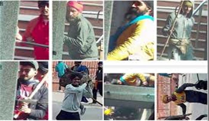 ये हैं दिल्ली हिंसा के 12 गुनहगार , दिल्ली पुलिस ने जारी की उपद्रवियों की तस्वीर