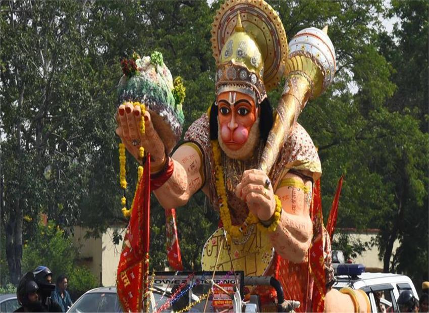 दक्षिण भारत में ज्येष्ठ मास की दशमी तिथि को मनाई जा रहीहनुमान जयंती , जाने कैसे प्रसन्न करें बजरंग बली को