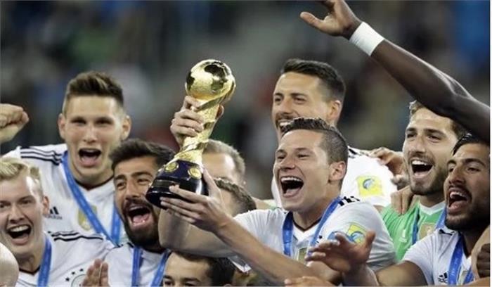 चिली को मात देकर पहली बार जर्मनी ने FIFA कॉन्फेडरेशन कप को जीता