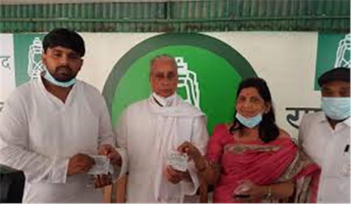 Bihar assembly election 2020 - जेल में बंद बाहुबली आनंद मोहन की पत्नी लवली राजद में शामिल , बोली - धोखेबाज हैं नीतीश
