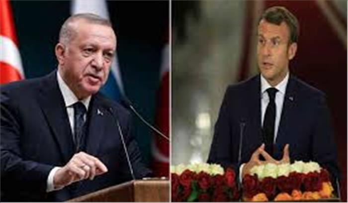 चार्ली हेब्दो के नए विवादित कार्टून पर तुर्की भड़का  राष्ट्रपति एर्दोगन बोले - इस्लाम विरोध एजेंडा चला रहा फ्रांस