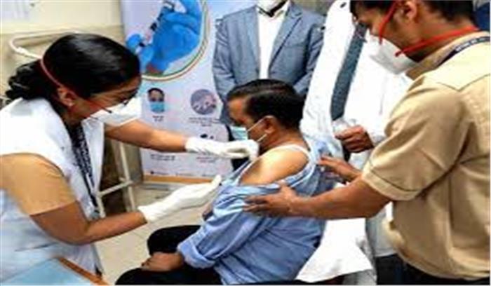 केजरीवाल सरकार का ऐलान , 1 मई से 18 साल से ऊपर वालों को लगेगी फ्री वैक्सीन