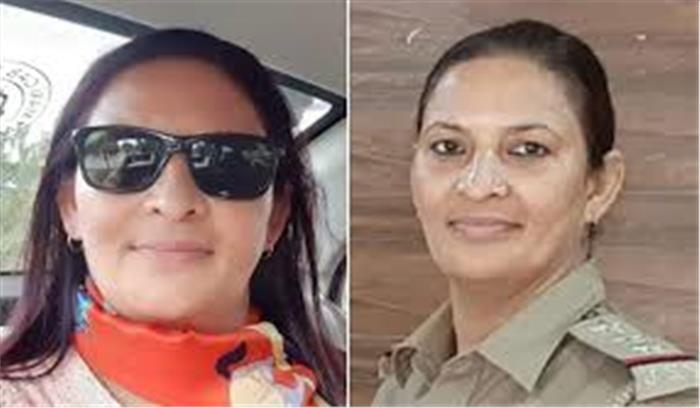 गाजियाबाद की घोटालेबाज महिला इंस्पेक्टर के घर छापेमारी , बरामद हुई नोटों की गड्डी , सभी पुलिसकर्मी फरार