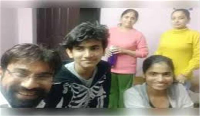 गाजियाबाद सुसाइड कांड : प्रेमिका संजना घर में रहती थी पत्नी की तरह , जानें कलह - आर्थिक तंगी में Suicide की Inside Story