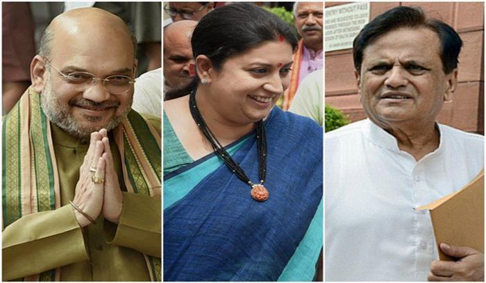 गुजरात राज्यसभा चुनाव के लिए वोटिंग जारी, कांग्रेस विधायकों का दावा भाजपा उम्मीदवार को वोट दिया