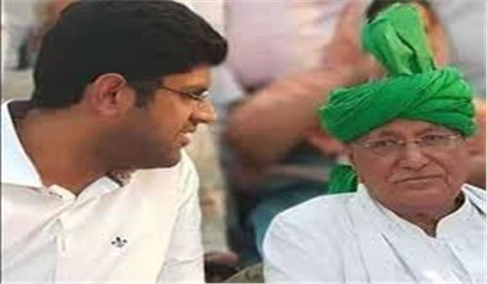 हरियाणा की मुख्य विपक्षी पार्टी इनेलो में 'आॅल इज वेल' नहीं, दुष्यंत चौटाला पार्टी से निलंबित