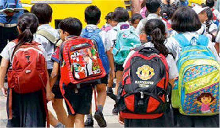 अब बस्ते के बोझ से बच्चों को मिलेगी निजात, मानव संसाधन विकास मंत्रालय ने तय किया वजन