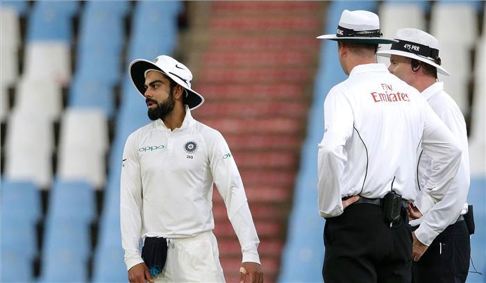 भारतीय कप्तान विराट कोहली पर आईसीसी ने लगाया जुर्माना, मैच फीस में होगी 25 फीसदी की कटौती