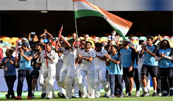 ब्रिसबेन में टीम इंडिया ने रचा इतिहास, PM बोले- युवाओं की ऊर्जा नजर आई , BCCI का बंपर इनाम