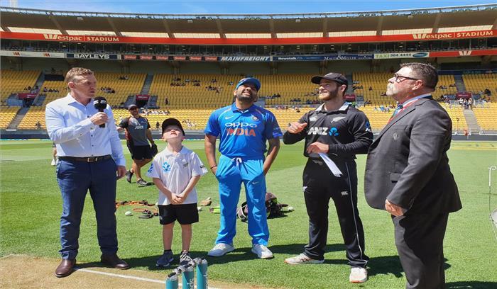 INDIA VS NEW ZEALAND LIVE - कोहली के ढेर हुए