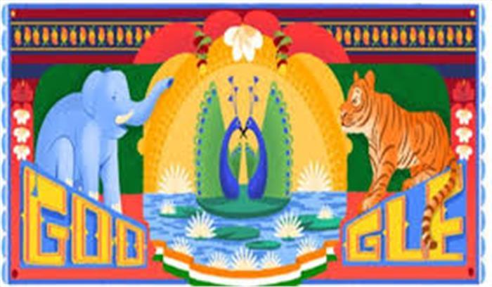 गूगल भी रंगा भारत की स्वाधीनता के रंगों में, मुंबई की सबीना ने तैयार किया विशेष डूडल