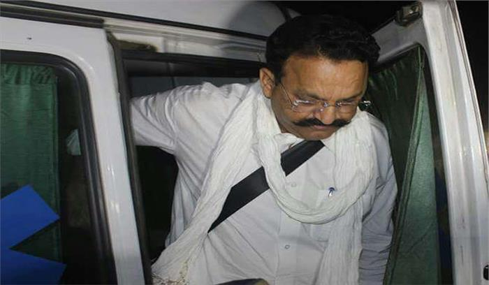 जेल में बाहुबली मुख्तार अंसारी और उसकी पत्नी को आया हार्ट अटैक, दोनों को बांदा अस्पताल में भर्ती करवाया