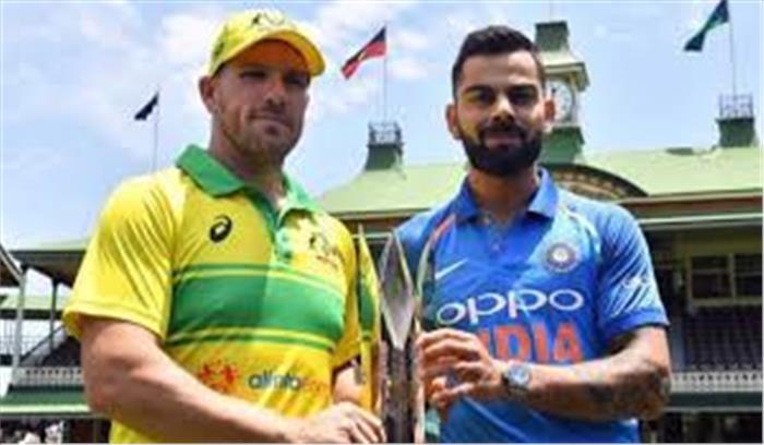 पहले वनडे में भारत 34 रनों से हारा , रोहित का शतक नहीं आया काम