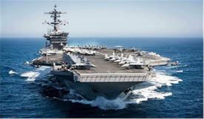 अमेरिका ने चीन सीमा के पास तैनात किए अपने 3 न्यूक्लियर एयरक्राफ्ट कैरियर , एकाएक बदले ड्रेगन के सुर