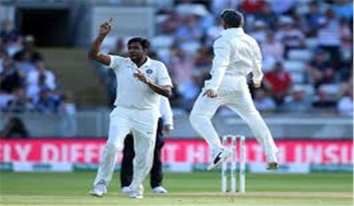 दूसरी पारी में इंग्लिश बल्लेबाज फंसे अश्विन की फिरकी के जाल में, 50 रनों पर गिरे 3 विकेट