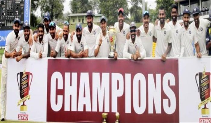 भारत की 85 सालों बाद ऐतिहासिक जीत, श्रीलंकाई बल्लेबाजों को ढाई दिन में दो बार ढेर कर सीरीज में 3-0 से कब्जा