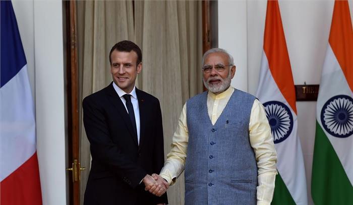 भारत और फ्रांस के बीच जमीन से आकाश तक की सुरक्षा को लेकर हुए समझौते