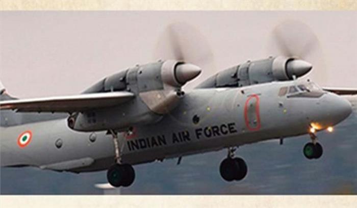 नौ दिन बाद वायुसेना के लापता विमान का मलबा मिला , 13 लोगों का कोई सुराग नहीं