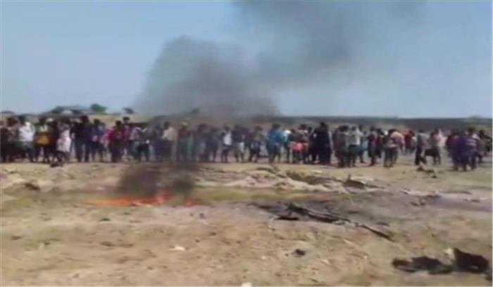 झारखंड-ओडिशा बाॅर्डर पर वायुसेना का हैलीकाॅप्टर दुर्घटनाग्रस्त, बाल-बाल बची पायलट की जान