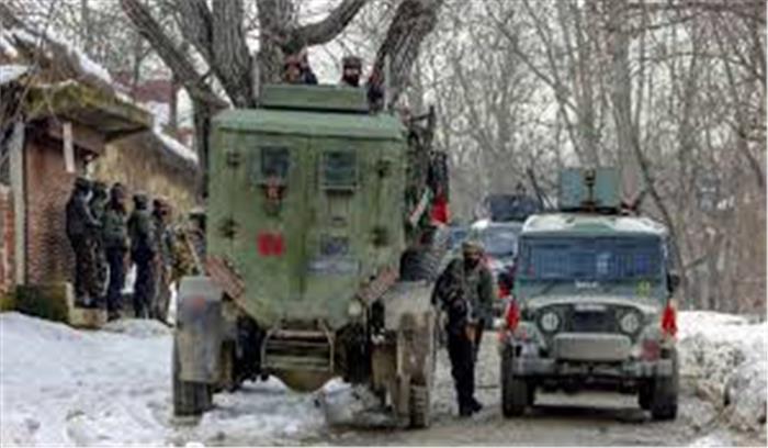 श्रीनगर में सुरक्षाबलों ने तीन आतंकियों को किया ढेर , नए साल पर वारदात की थी साजिश