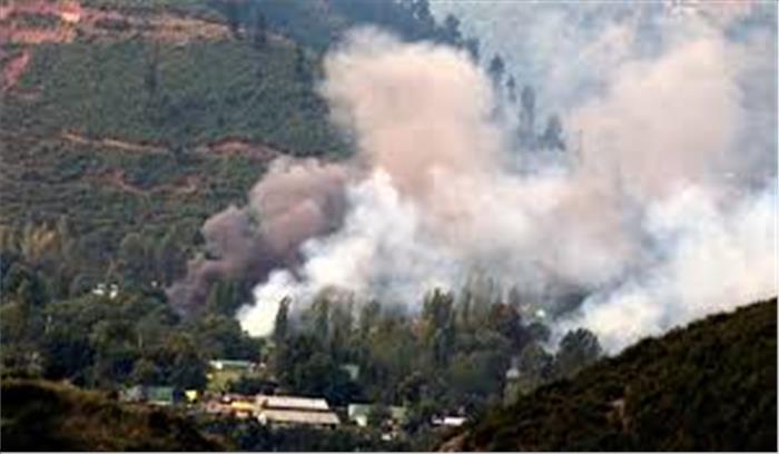 पाकिस्तानी सेना ने कृष्णा घाटी के रिहायशी इलाकों में शुरू की भारी हथियारों से गोलाबारी, दो जवान हुए थे शहीद