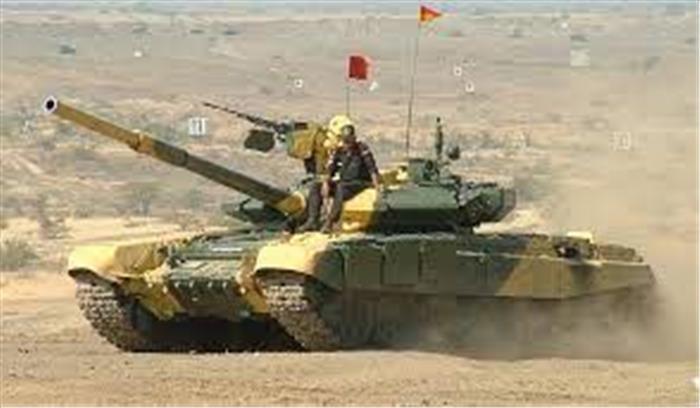 भारत ने लद्दाख में उतारा अपना सबसे घातक T90 भीष्म टैंक , चीन बॉर्डर पर भी बख्तर बंद गाड़ियों जुटीं