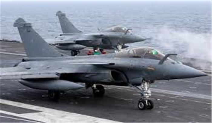 फ्रांस से भारत के लिए उड़े 5 लड़ाकू विमान राफेल , 29 जुलाई की सुबह पहुंचेंगे अंबाला