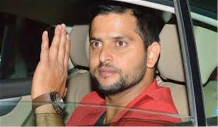 सड़क दुर्घटना में बाल-बाल बचे सुरेश रैना, मैच के लिए कानपुर जाते समय रेंज रोवर कार का टायर धमाके के साथ फटा